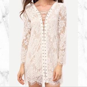 Dresses & Skirts - *NWOT* Lace-up Dress